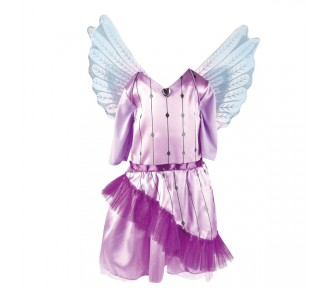 Kruselings - Costume - Chloe Magic Costume and Wings for Children  - 7-8 Yrs - JUST 3 LEFT!