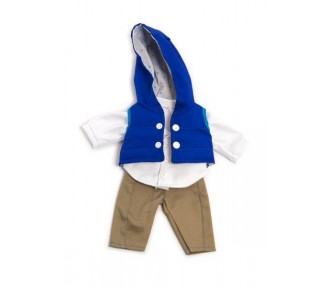 Miniland Clothing Navy autumn set, (32cm doll) - AVAIL JUNE