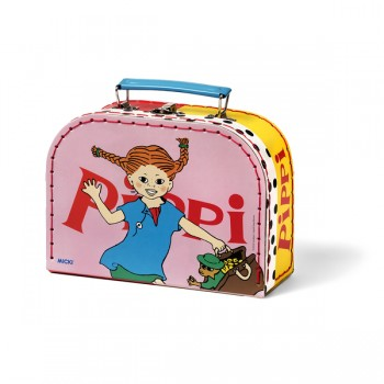 Pippi Longstocking Suitcase Pink, 20 cm - AVAIL 26/8