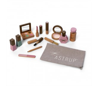 Astrup Wooden Role Play Make Up Set, 13 pieces
