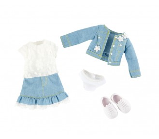 Kruselings - Outfit - Sweet Mint Denim Suit - AVAIL 1/6