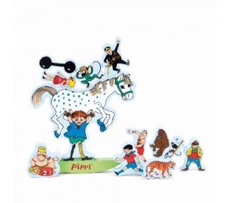 Pippi Longstocking Wooden Balance Puzzle - AVAIL 1/10