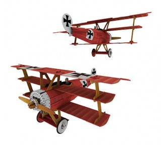 Sassi Travel, Learn and Explore - 3D Airplane Model - FREE WITH 6 X SAS025