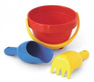 Plasto Junior Sand Set/Baby Bucket Set - AVAIL 25/2