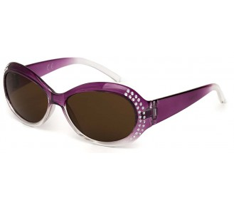 Kiddus Sunglasses - Fabulous Diamonds Purple UV400