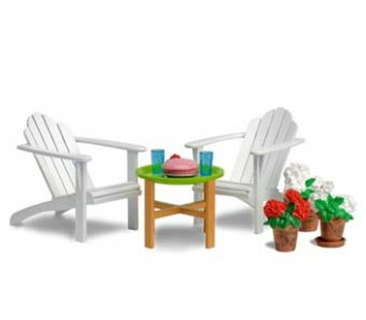 Lundby Smaland 2015 Garden Furniture Set